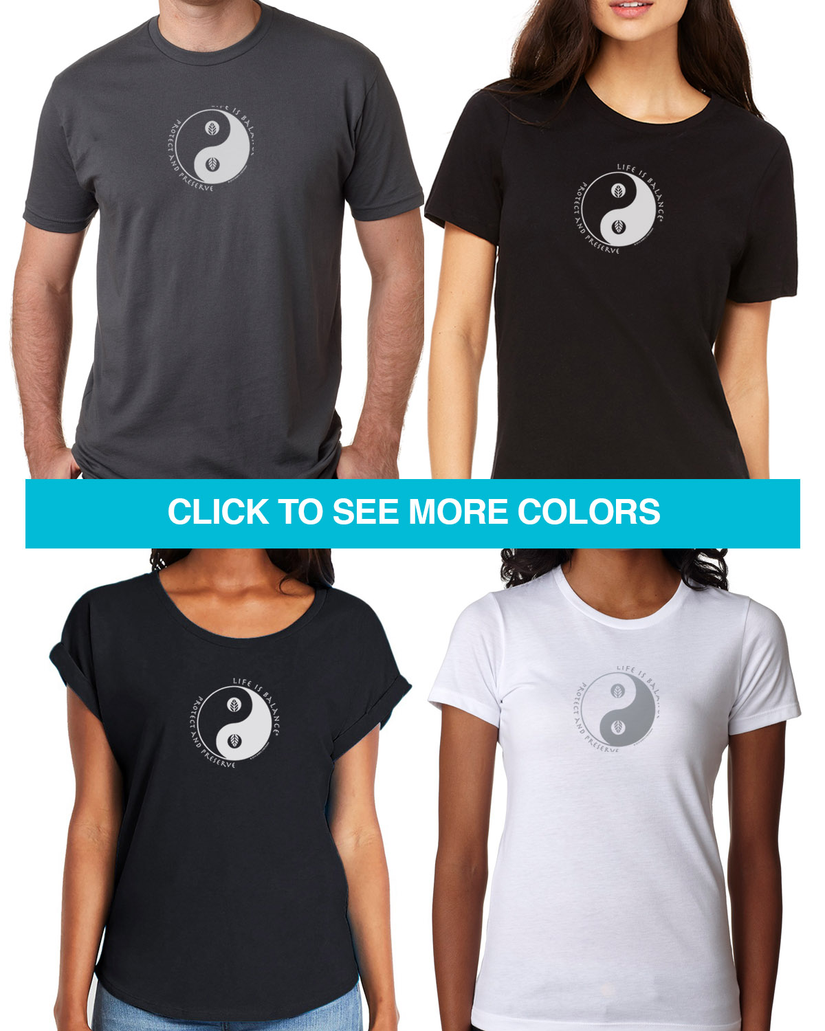 Environment Tees for Men & Women