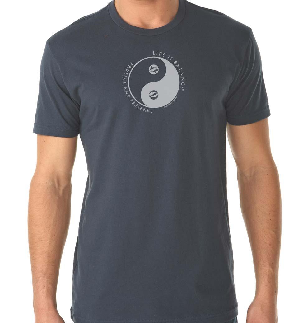 Men's short sleeve t-shirt (indigo)