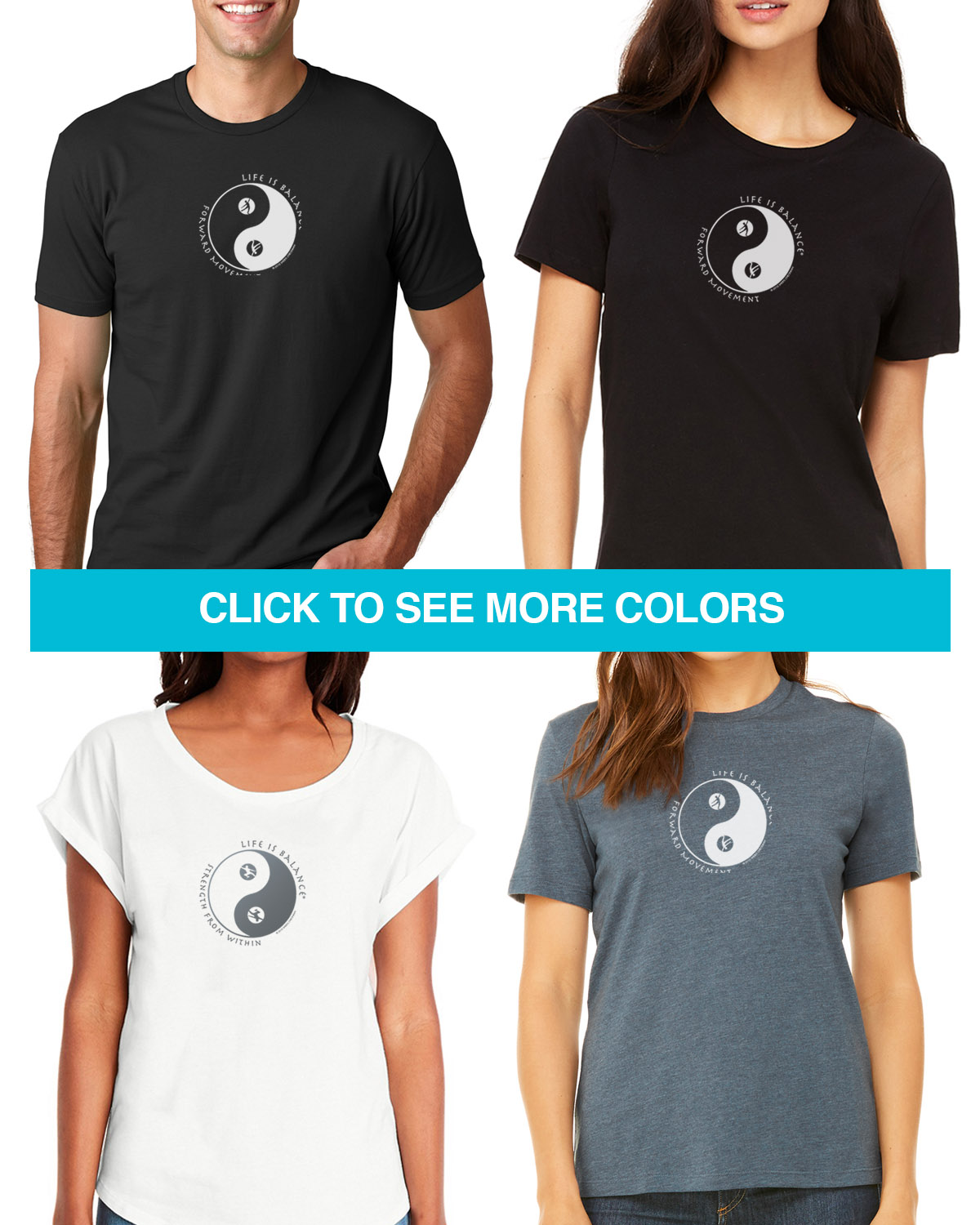 Dance t-shirts for Men and Women