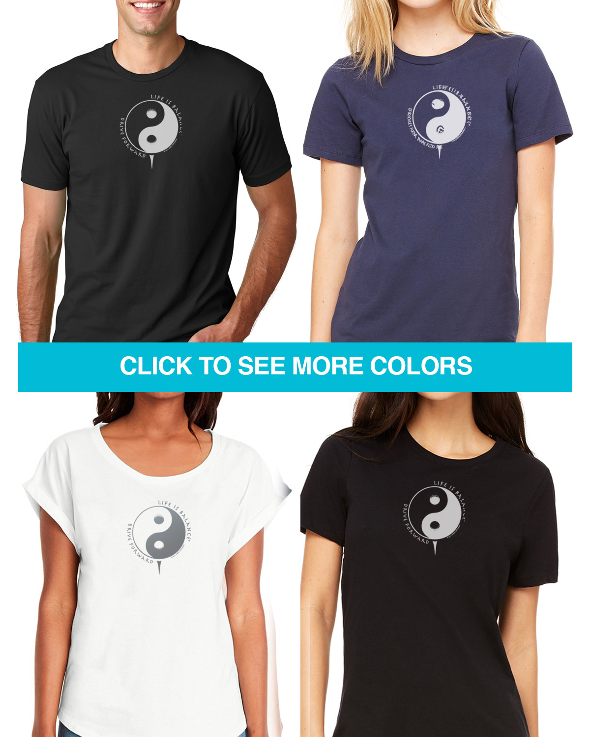 Short sleeve golf t-shirts for Men and Women.