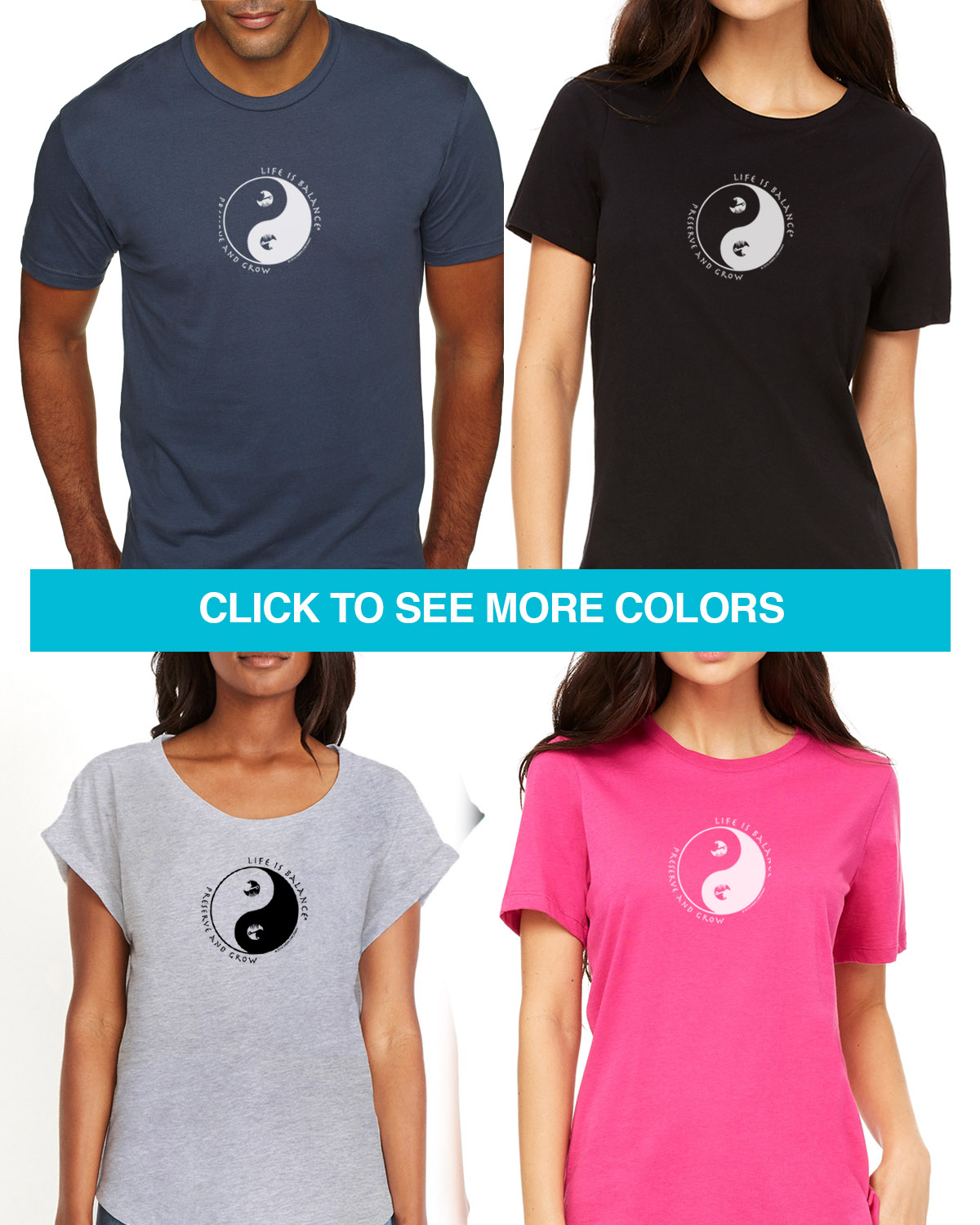 Short sleeve gardening t-shirts for Men and Women. Women's fitted styles and a unisex style for men andwomen