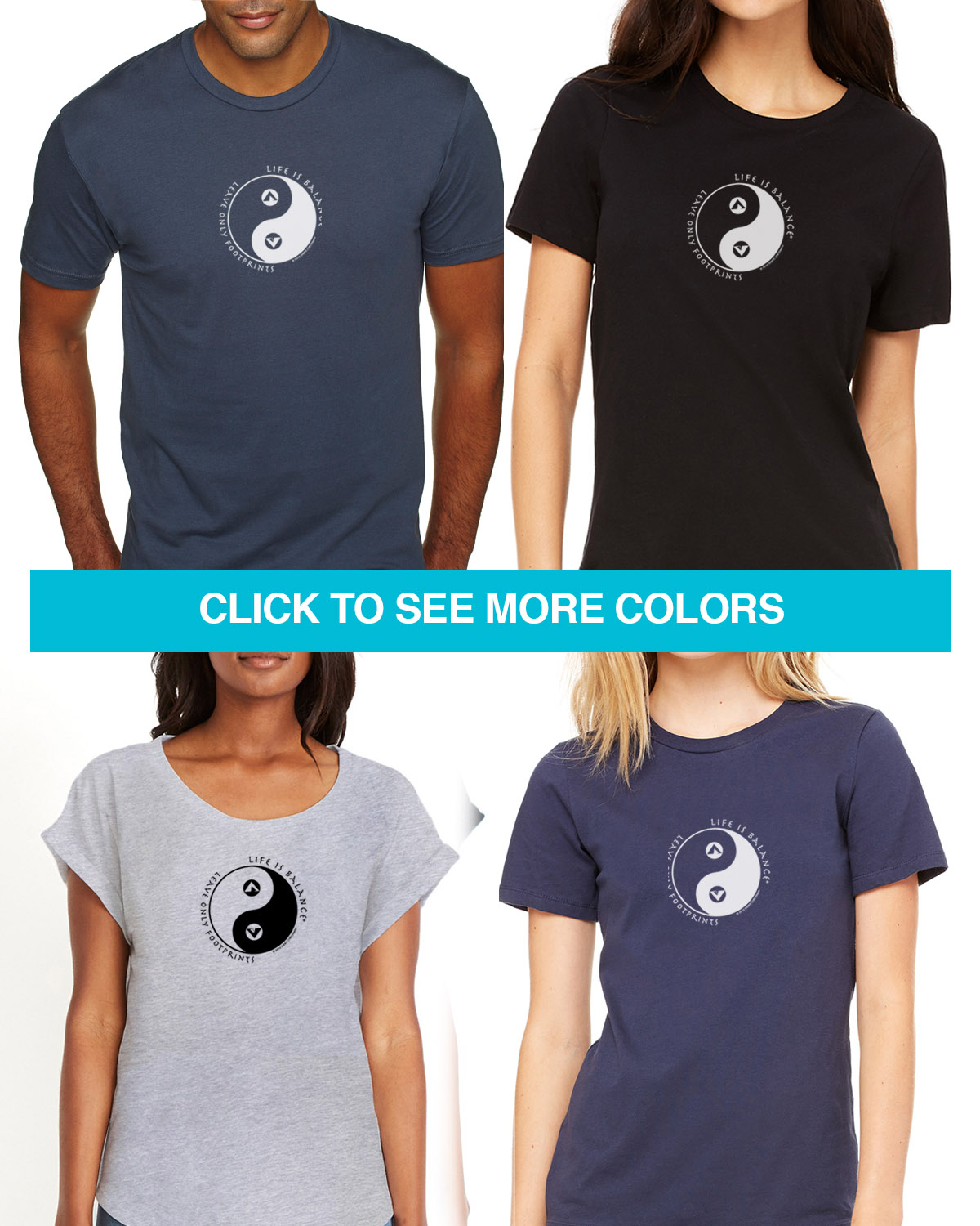 Camping Tees for Men & Women