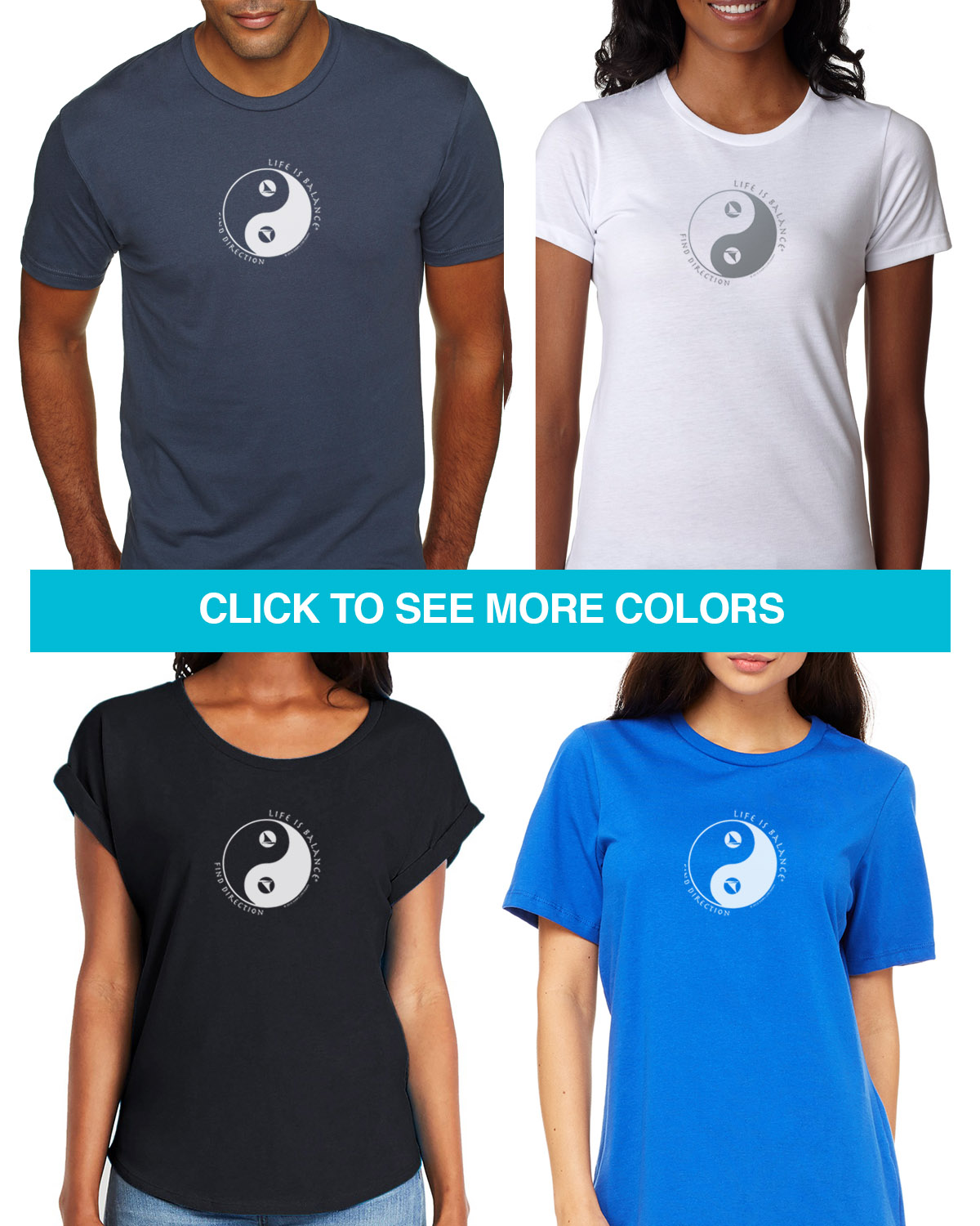 Short sleeve sailing t-shirts for Men and Women. Women's fitted styles and a unisex style for men and women
