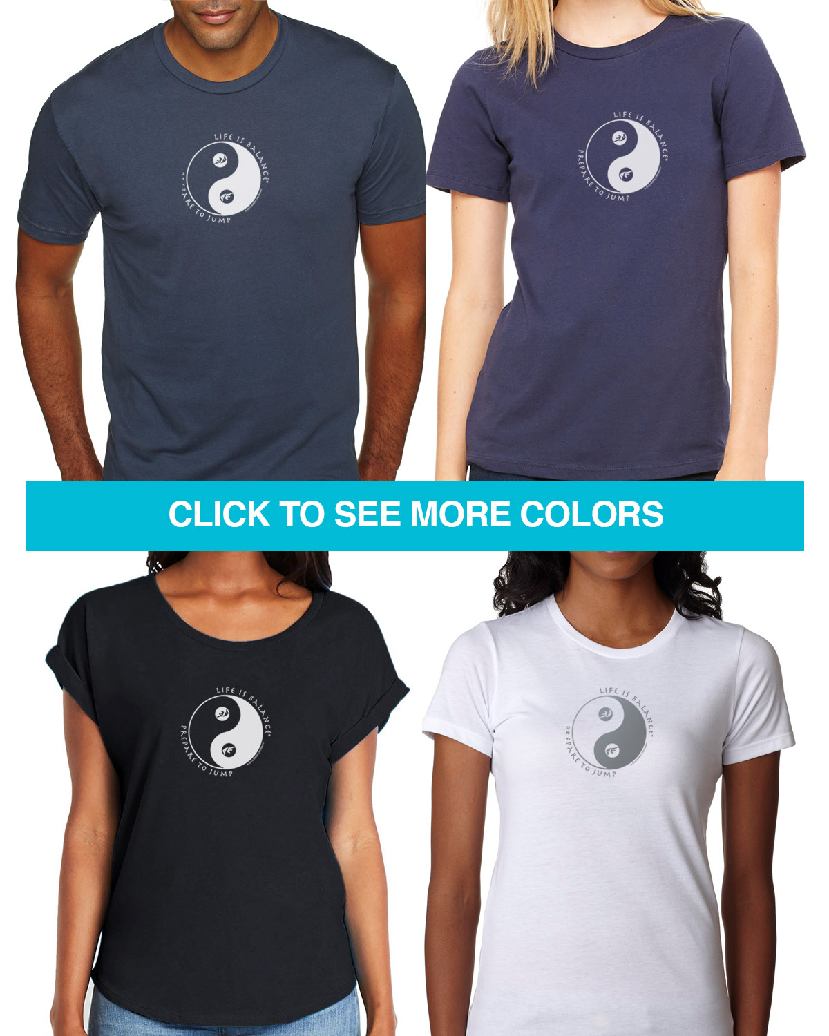 Skydiving Tees for Men & Women