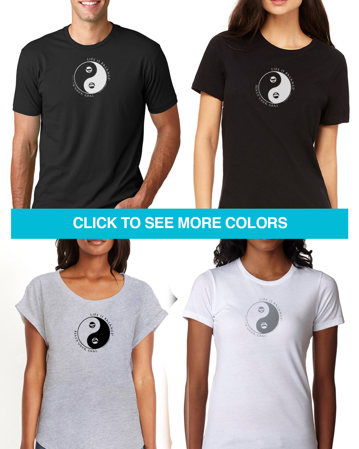 Short sleeve hockey t-shirts for Men and Women.