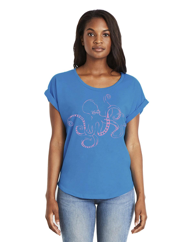 Women's Dolman Sleeve t-shirt (Turquoise)