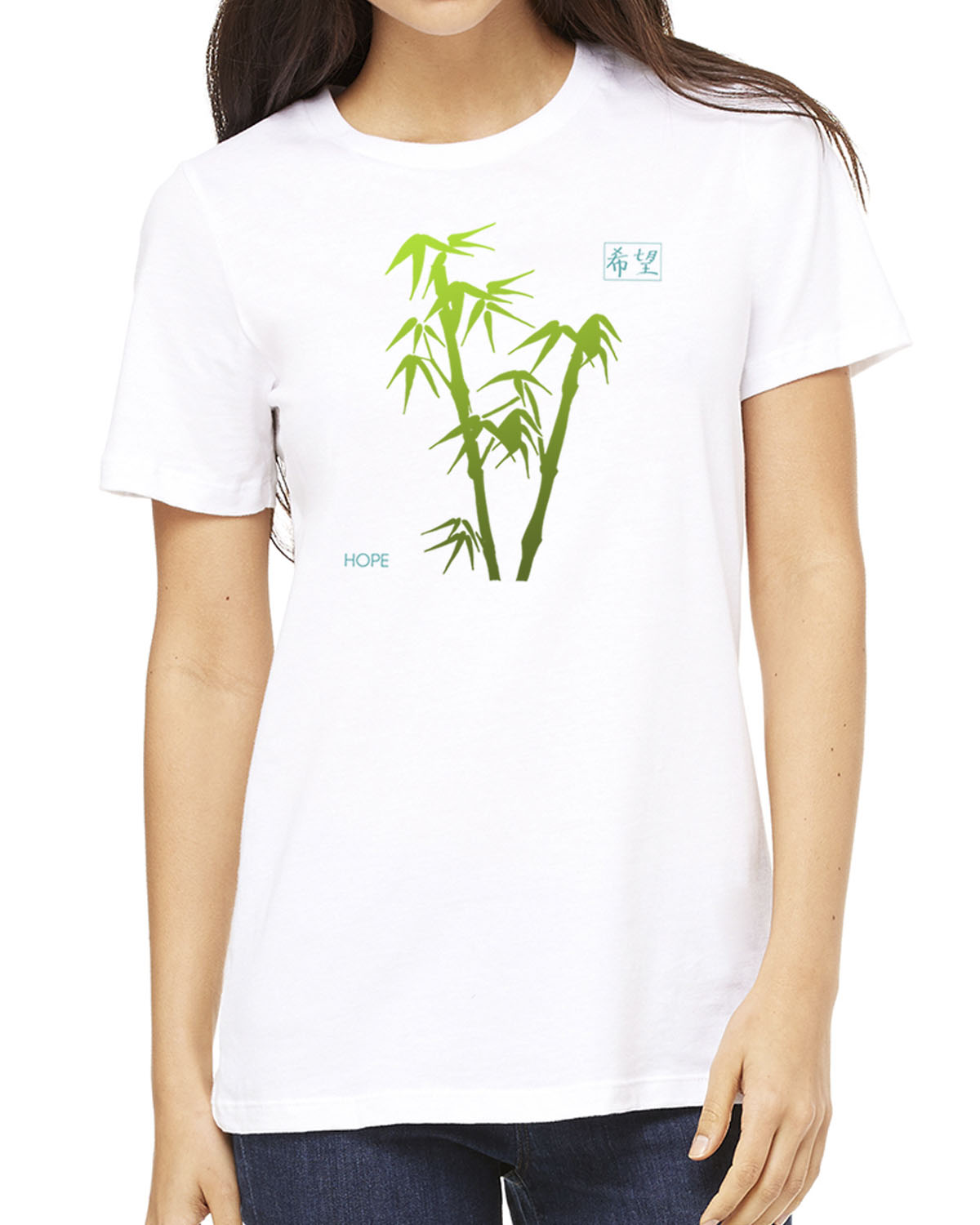 Women's short sleeve t-shirt (white)