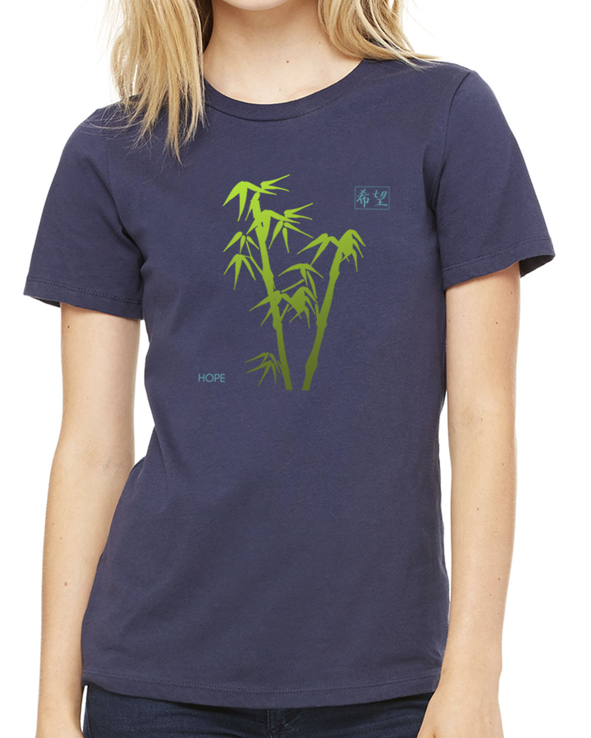 Women's short sleeve t-shirt (navy)