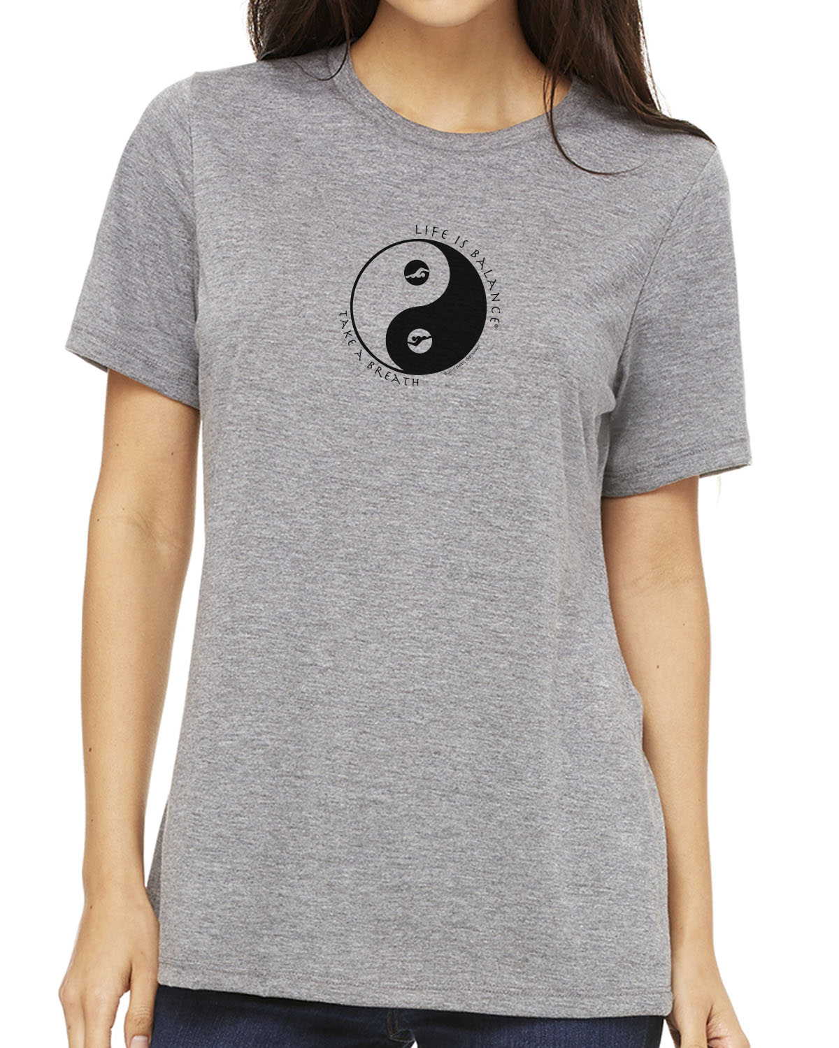 Women's short sleeve t-shirt (heather gray)