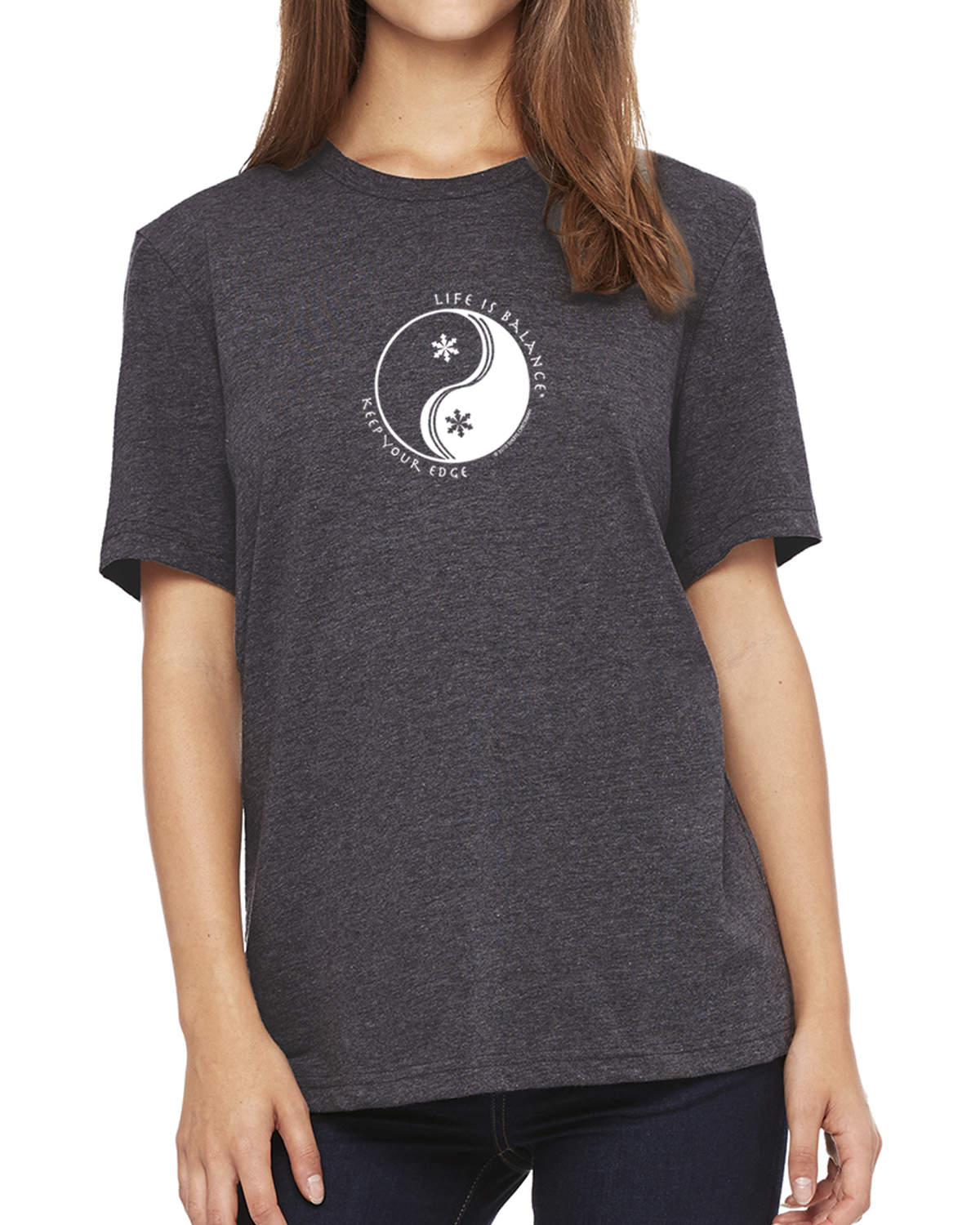 Women's Short Sleeve T-Shirt (dark gray heather)