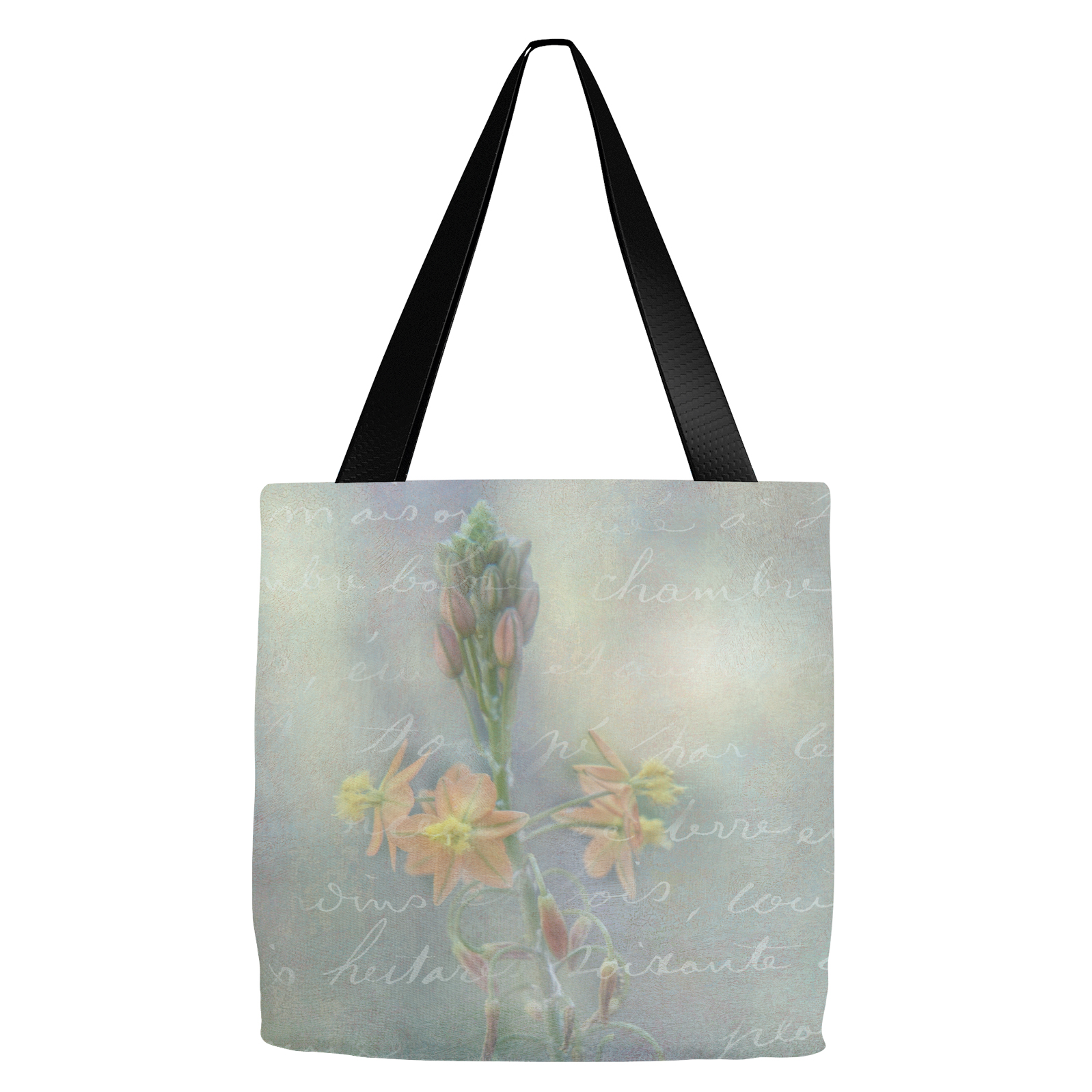 French Floral Tote Bag