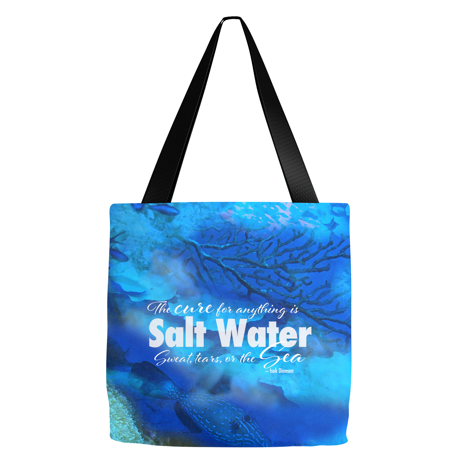 Oceanscape Salt Water Tote Bag