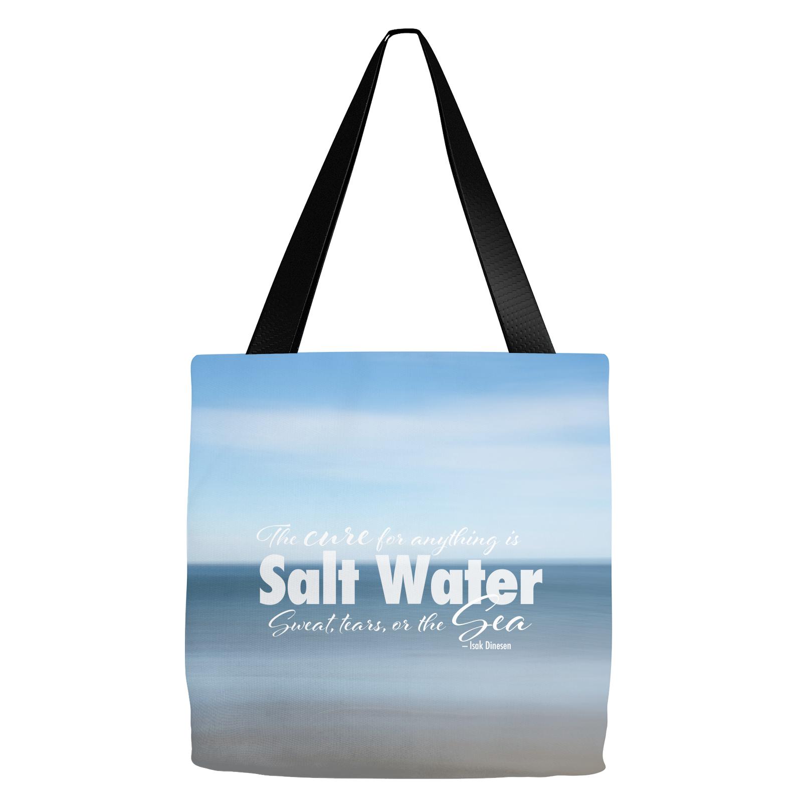 Ocean Shore Salt Water Tote Bag