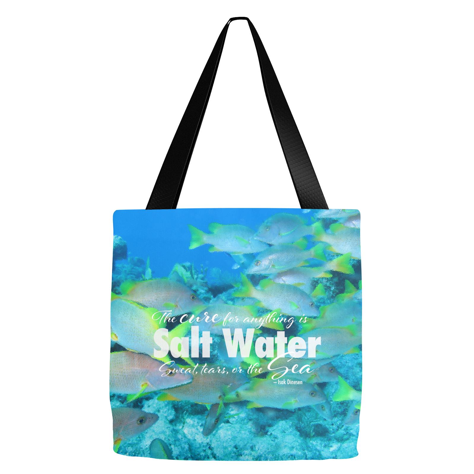 Schools Salt Water Tote Bag