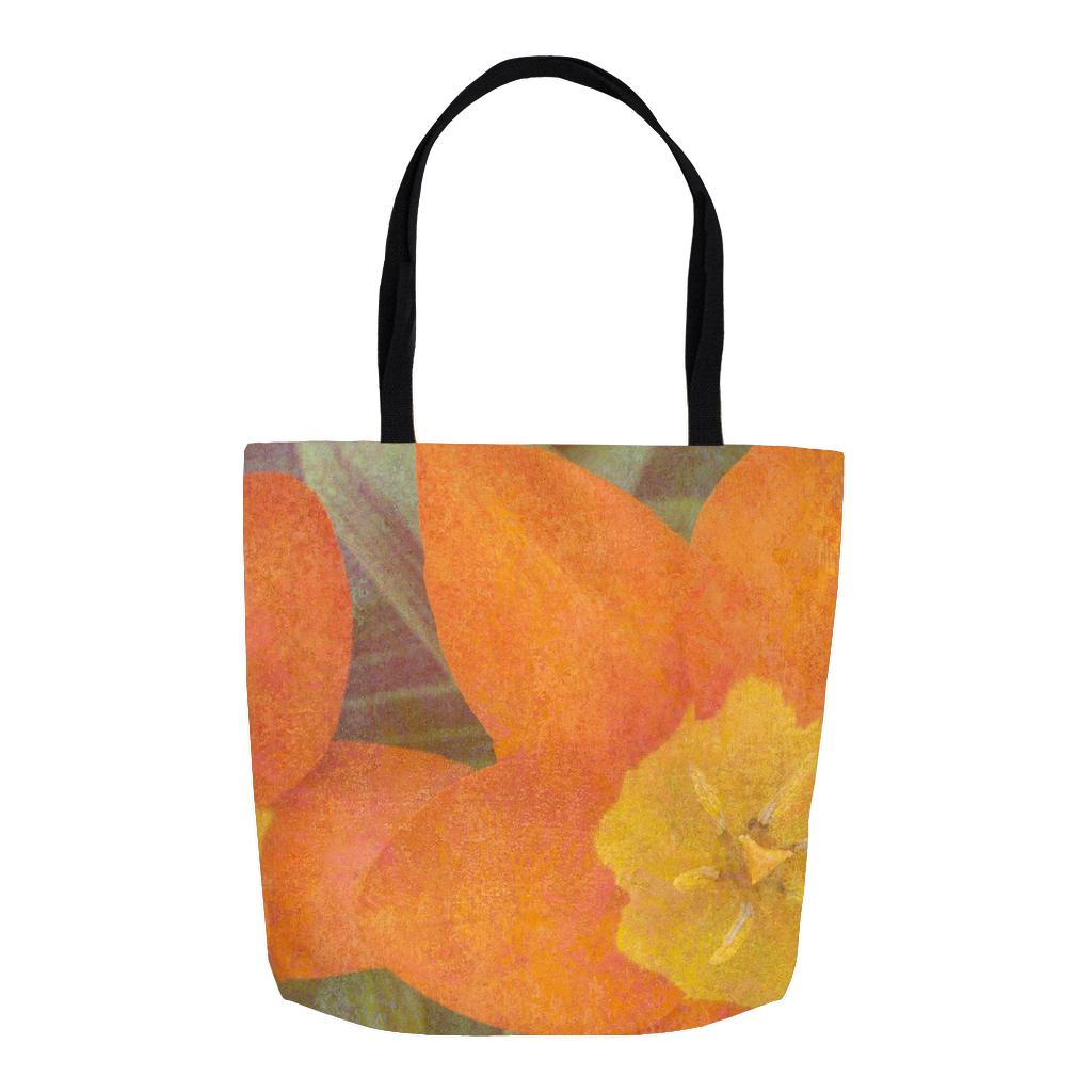 Orange Tulips 2 Tote Bag