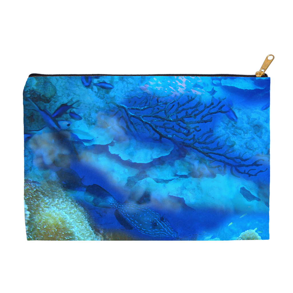 Oceanscape Accessory Pouch