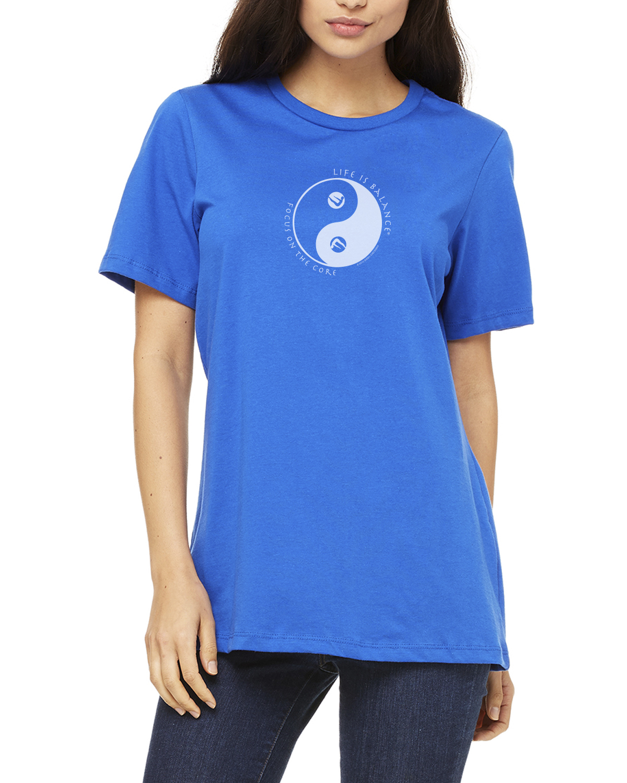 Pilates T-Shirt for Women (Royal)