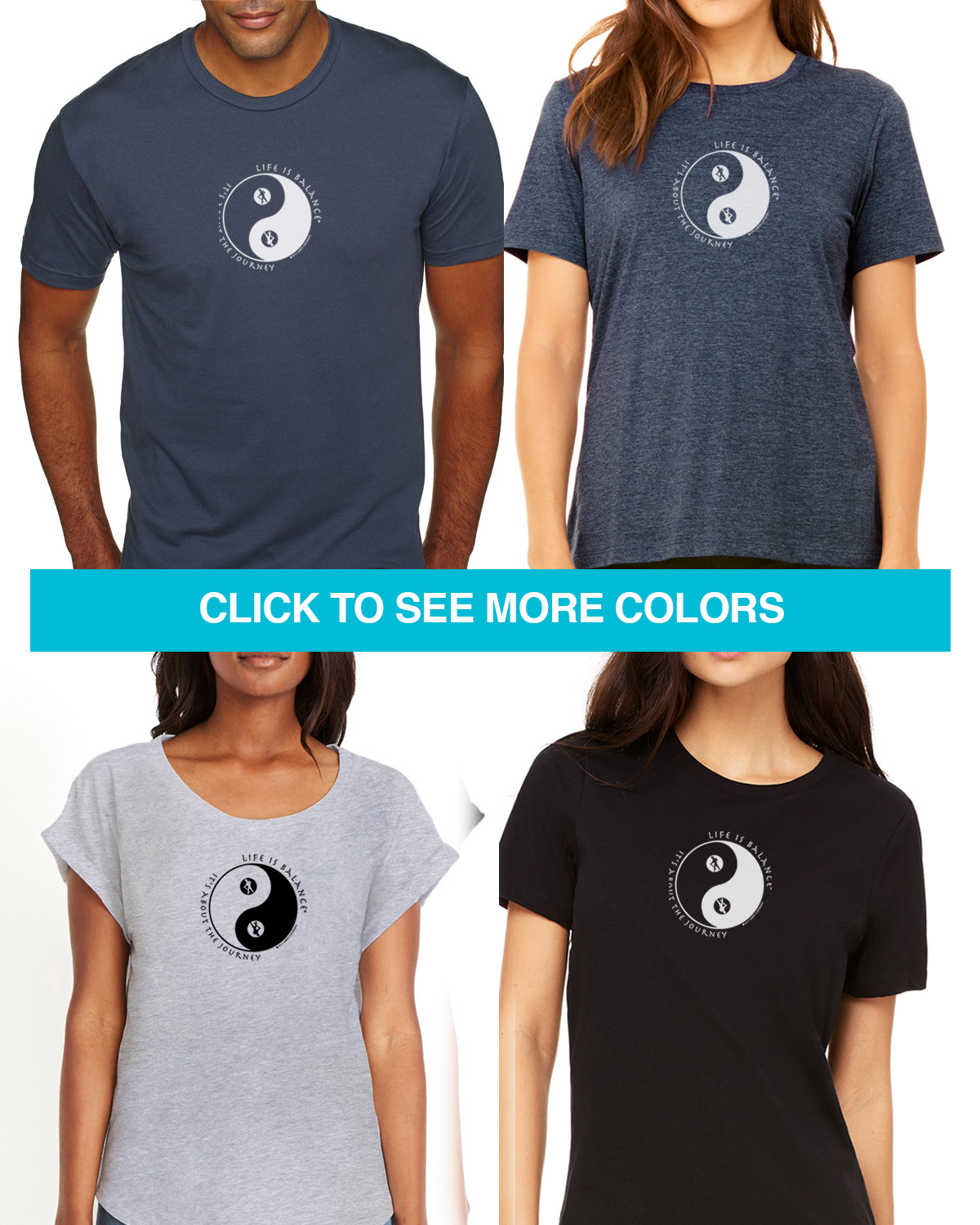 Hiking Tees for Men & Women