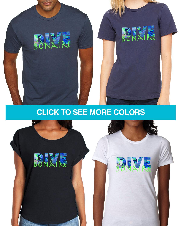 DIVE Bonaire Tees for Men & Women